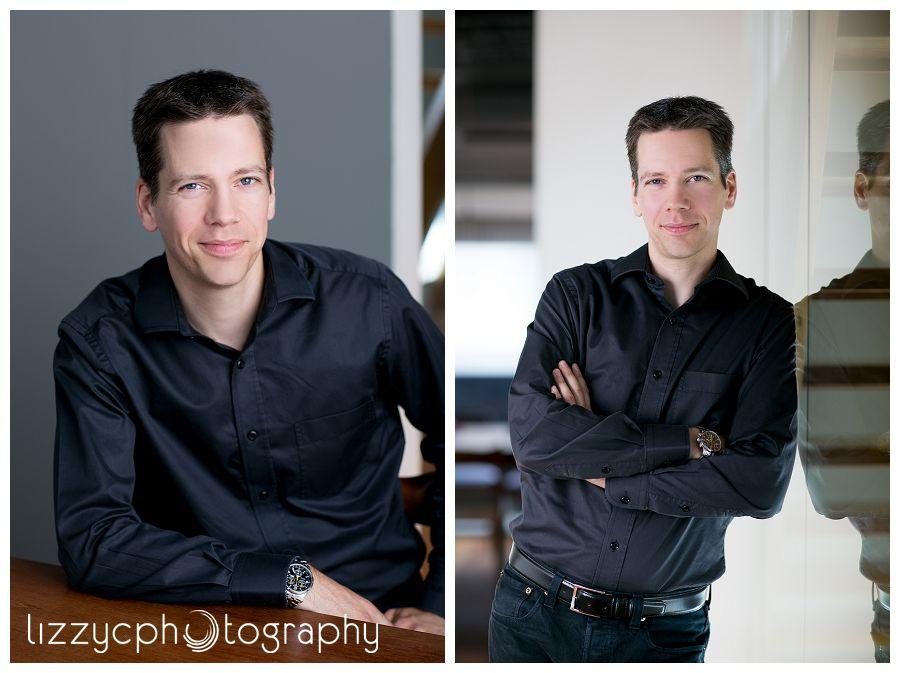 Consultant website portrait