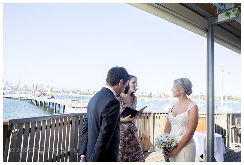 StKilda wedding 0070 Emma and Tims St Kilda Pier Wedding