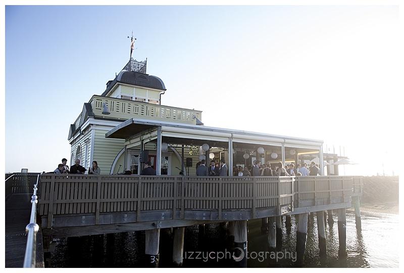 StKilda wedding 0073 Emma and Tims St Kilda Pier Wedding
