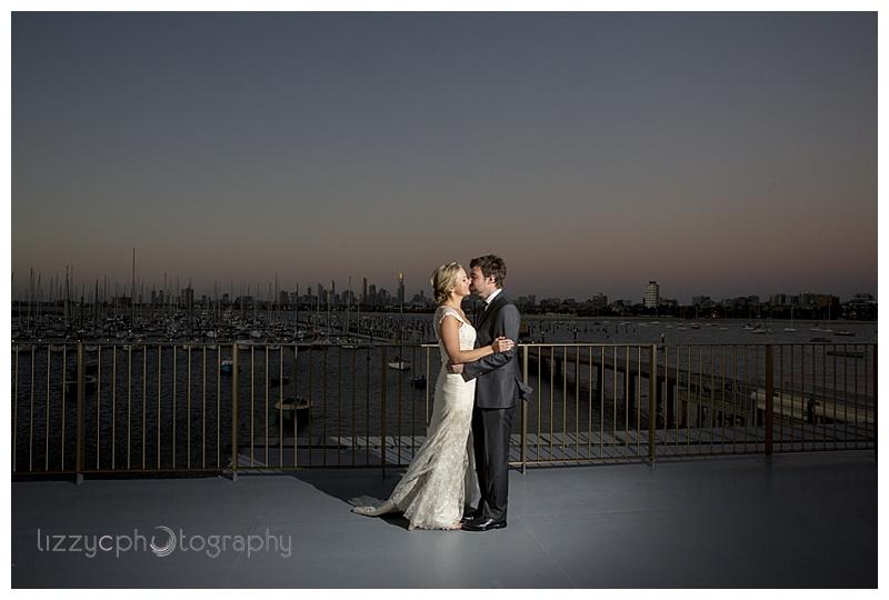 StKilda wedding 0081 Emma and Tims St Kilda Pier Wedding